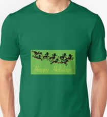 Poodle Sleigh Unisex T-Shirt
