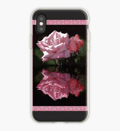 Passionately Pink Rose Duo iPhone Case