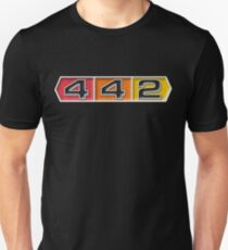 Oldsmobile 442 badge emblem Unisex T-Shirt