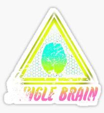 jungle brain (save our dreams) Sticker