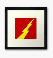Rising Lightning Framed Print