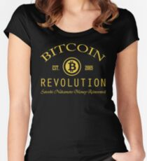 Bitcoin Revolution Women's Fitted Scoop T-Shirt