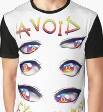 avoid eye contact Graphic T-Shirt