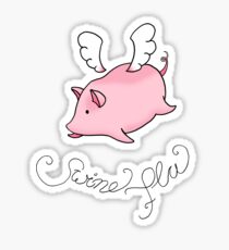 Swine Flu Sticker