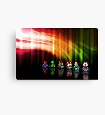 Super Mario Kart pixel art Canvas Print
