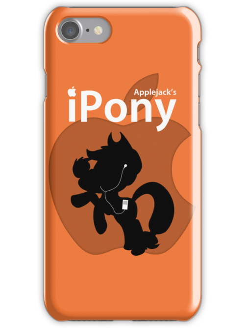 Applejack's iPony (with extra Apple!) by Eniac