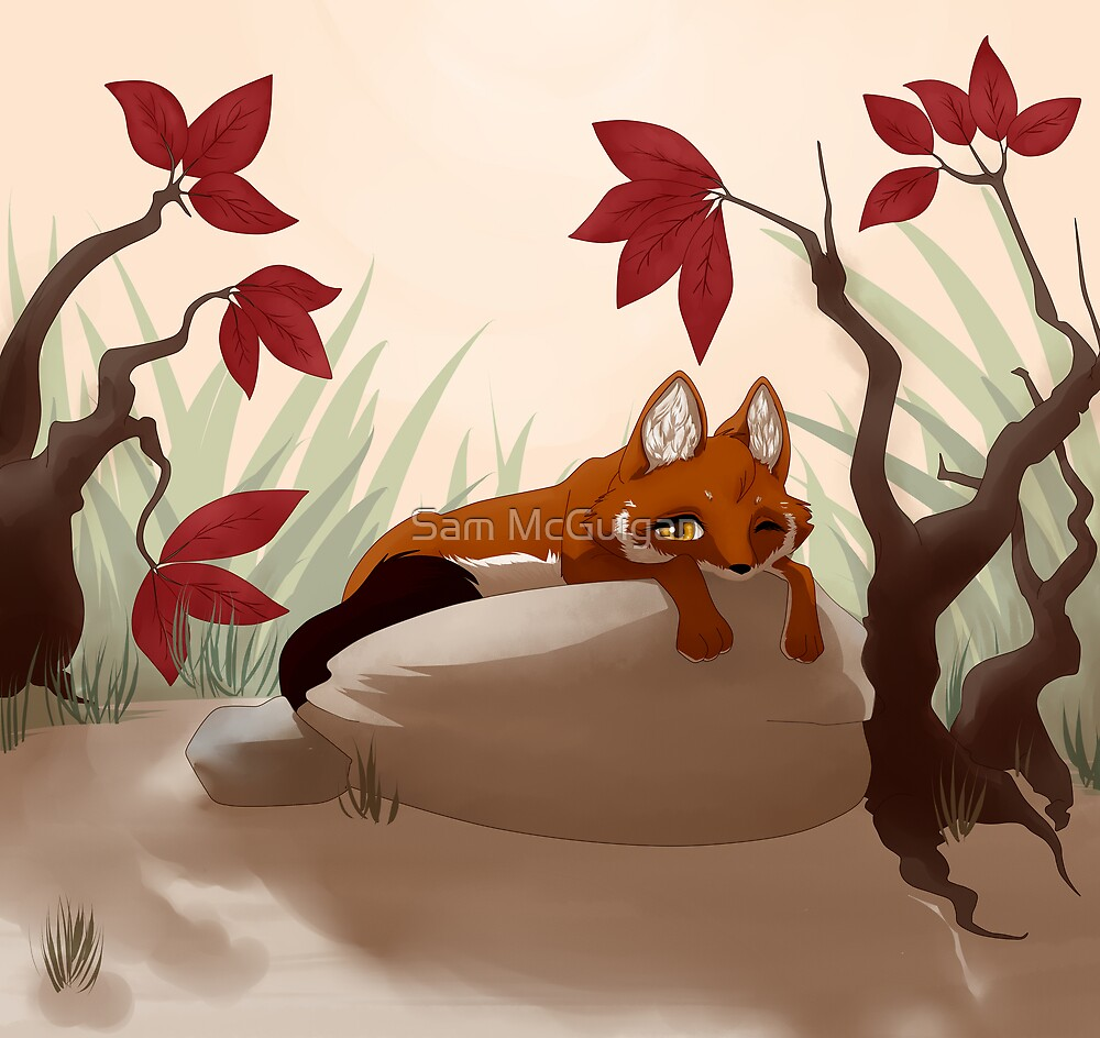 Lying in the sun by Tunnelfrog