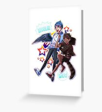Regular Show - Nerd Team Greeting Card