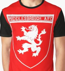middlesbrough afc Graphic T-Shirt