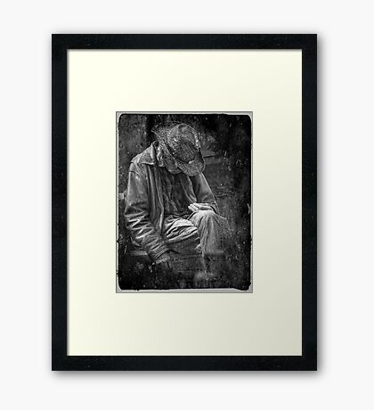 The Wandering Man Framed Print