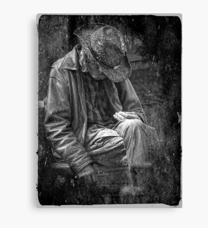 The Wandering Man Canvas Print