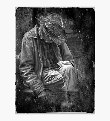 The Wandering Man Photographic Print