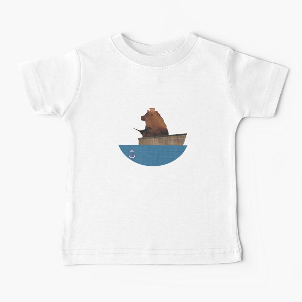 Cheltenham the Bear: Fishing Trip Baby T-Shirt