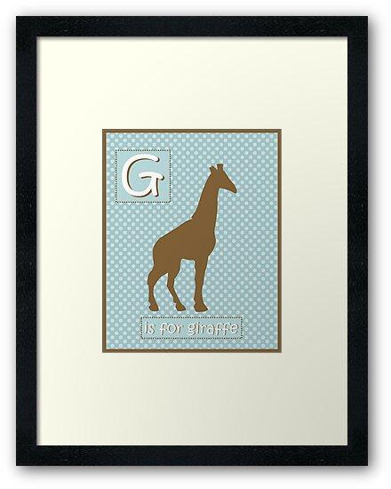 """G"" is for Giraffe by runninragged"