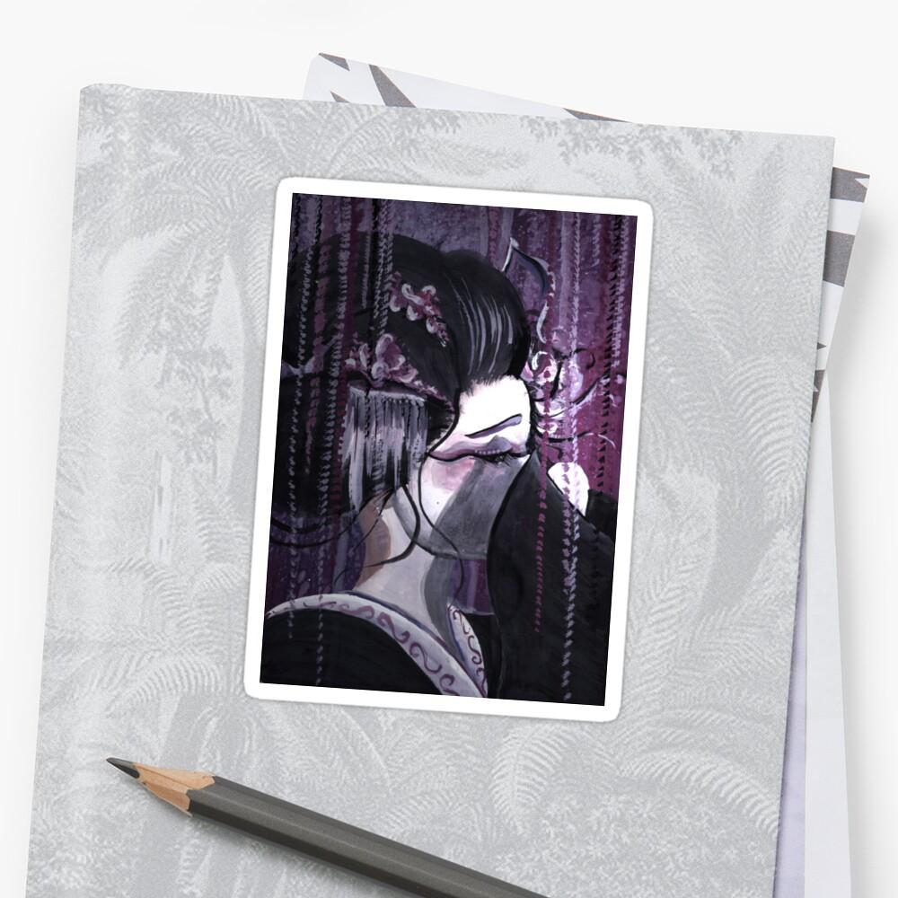 Geisha in Wisteria: The Timid Concubine by Barbora  Urbankova
