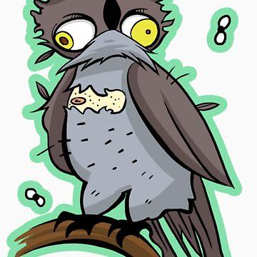 Bert the Owl by Lascaux