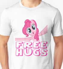 Free Hugs Slim Fit T-Shirt