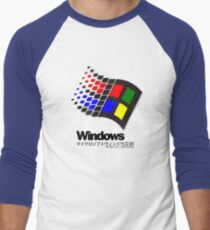 WINDOWS 95 Men's Baseball ¾ T-Shirt