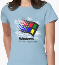 WINDOWS 95 Tailliertes T-Shirt