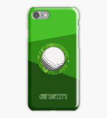 Enson golfing iPhone Case/Skin