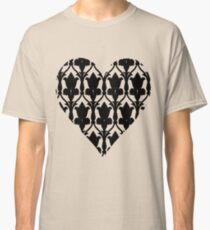 Sherlock Wallpaper Love Classic T-Shirt