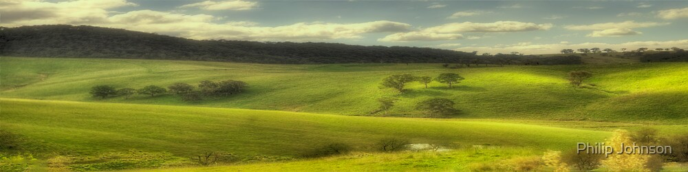The Pastoral Symphony (25 Exposure Panoramic) - Somewhere Near Oberon - The HDR Experience by Philip Johnson