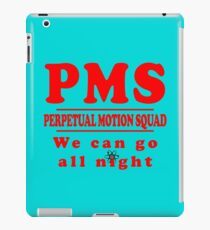 PMS - Perpetual Motion Squad iPad Case/Skin