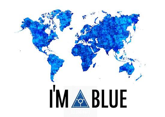 I'm blue secret world tshirt by PickleWarrior