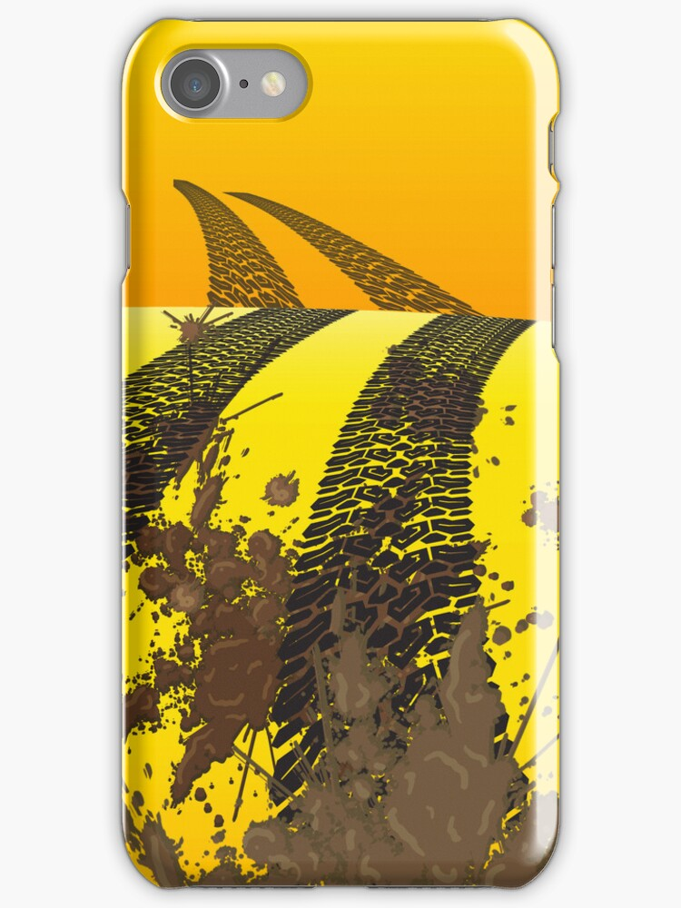 Off Road iPod /  iPhone 5 Case / iPhone 4 Case  / Samsung Galaxy Cases  by CroDesign