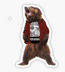 For those who have bear Sticker