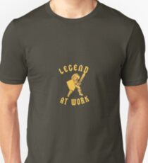 Zelda Legend At Work Gold and Brown iPhone Case Unisex T-Shirt