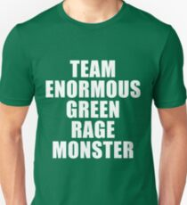 Team Enormous Green Rage Monster T-Shirt