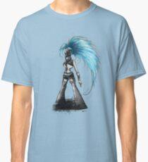 Rainbow Punk: Cybernetic Blue Classic T-Shirt