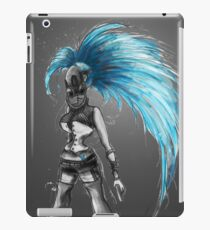 Rainbow Punk: Cybernetic Blue iPad Case/Skin