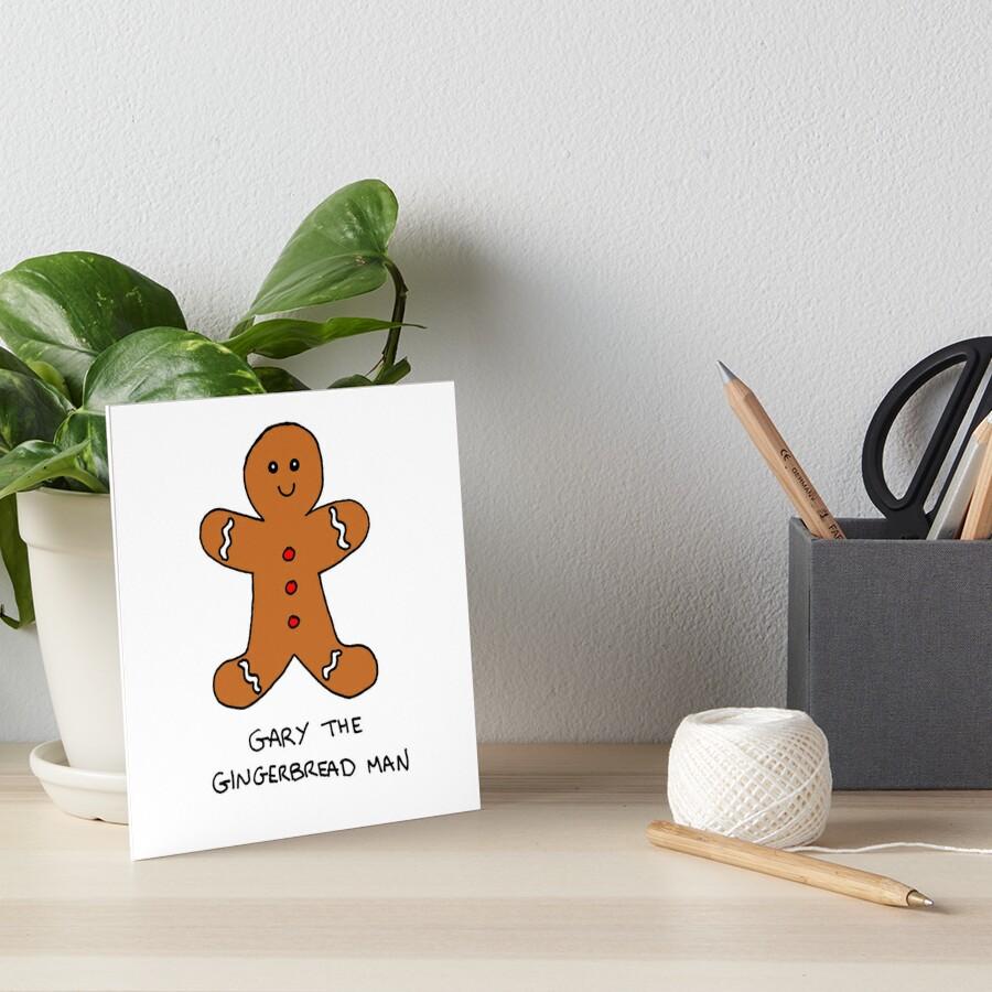 Láminas de exposición «Gary The Gingerbread Man» de christinaashman ...