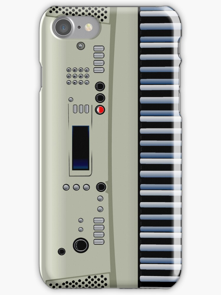 Music Keyboard iPod /  iPhone 5 Case / iPhone 4 Case  / Samsung Galaxy Cases  by CroDesign