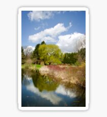 Spring Reflection Landscape Sticker