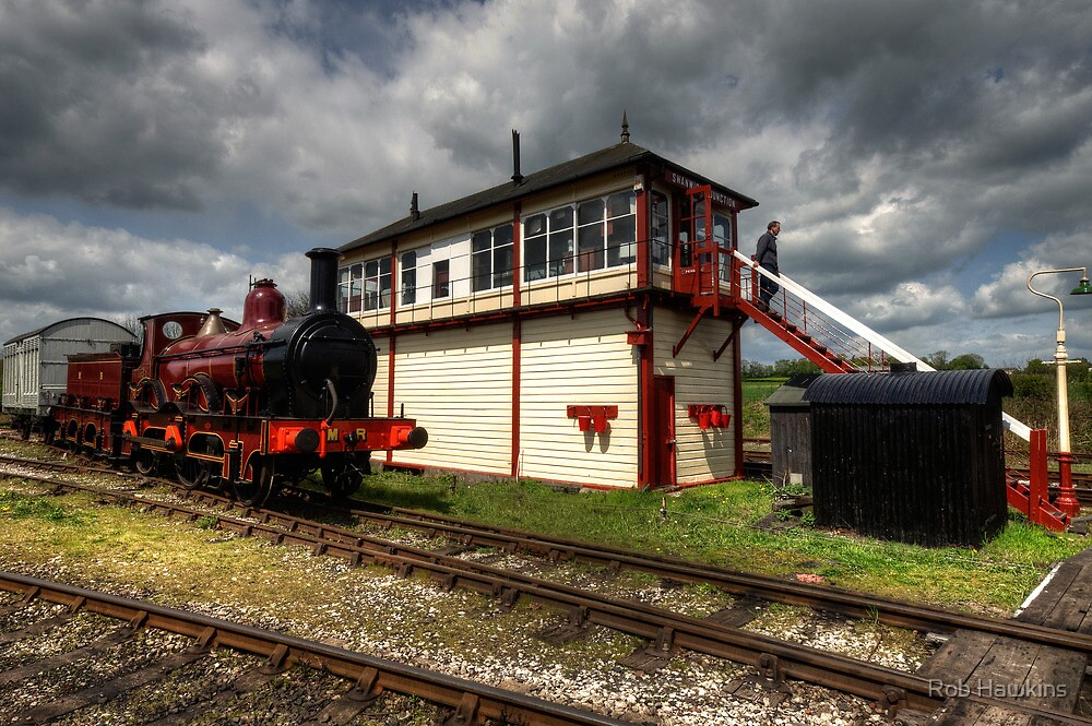 The Steamer & the Signal Box by Rob Hawkins