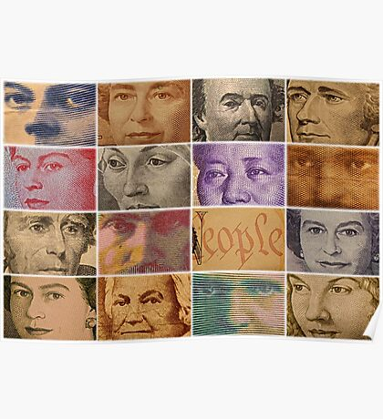 Peopled Money Poster