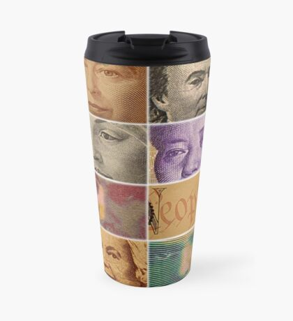 Peopled Money Travel Mug