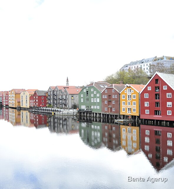 Trondheim - Norway II by Bente Agerup