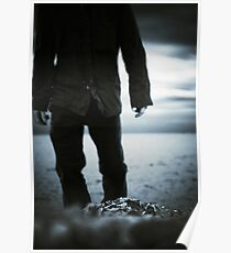 Silver Morning Poster