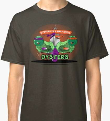 Oysters In A Half shell Alternate Classic T-Shirt