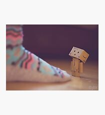 Danbo & The Giant Photographic Print
