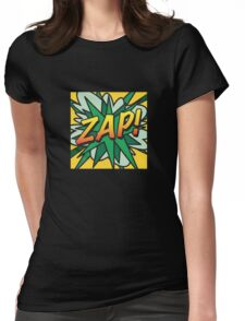 Comic Book ZAP! Womens Fitted T-Shirt