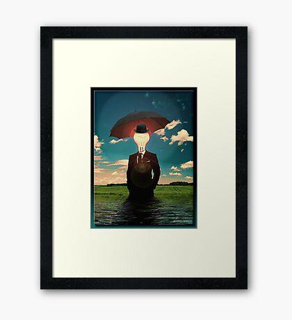 An Idea Framed Print