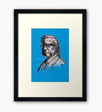 I Asimov Framed Print