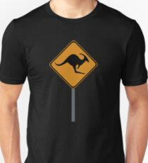 Kangaroo Dinosaur sign T-Shirt