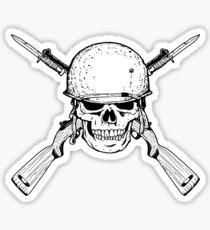 WW II M1 Carbine Jolly Roger Sticker