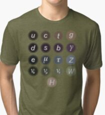 Physics Standard Model Tri-blend T-Shirt